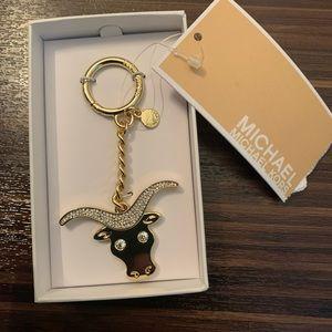 Michael Kors Zodiac Bag Key Ring -  Taurus